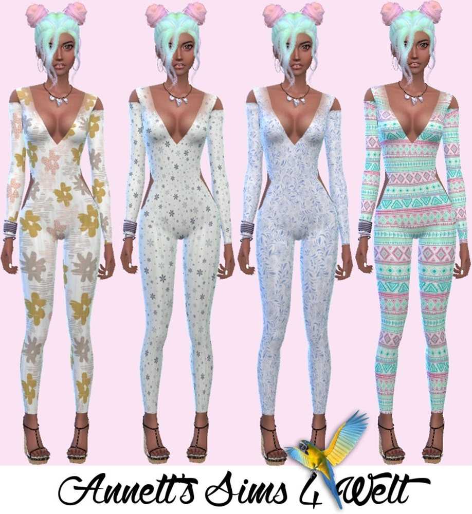 Accessory Bodysuits by Annett
