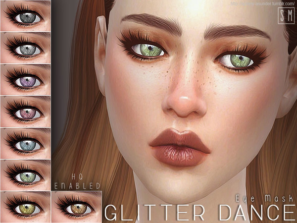 [ Glitter Dance ] - Eye Mask by Screaming Mustard