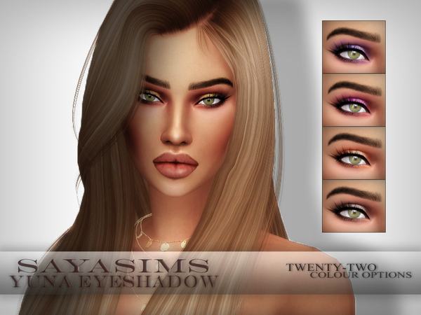 Yuna Eyeshadow by SayaSims