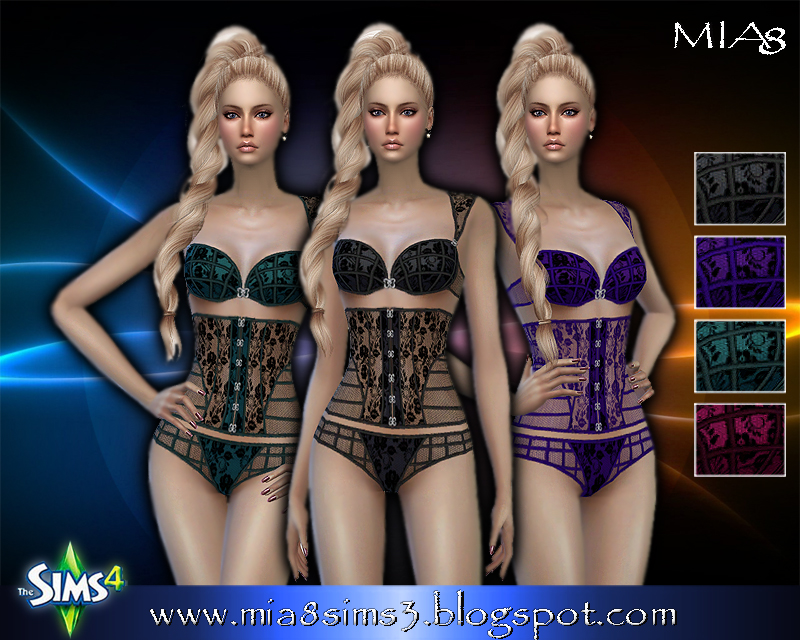 Womens Lingerie (4 colors) by Mia8