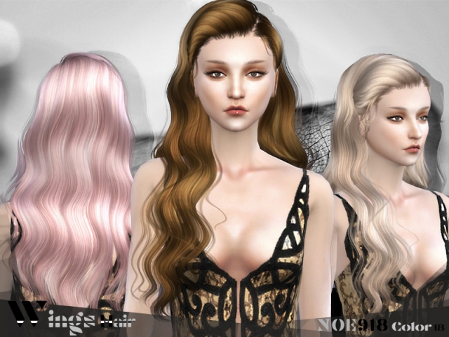 HAIR NOE918 F by Wings