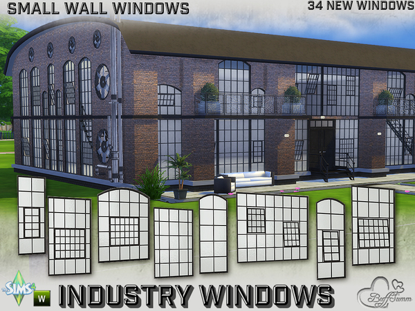 Industry Windows for Small Wall Size by BuffSumm