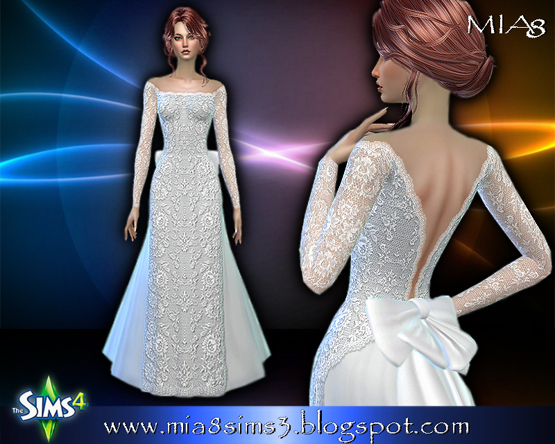Women's wedding dress (1 color) by Mia8