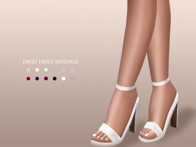 High Heels Sandals by MariaMaria