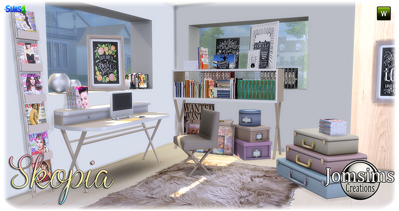 Skopia Office Set by JomSims