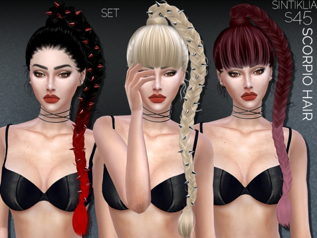 Hairset Scorpio by Sintiklia