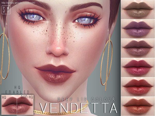 [ Vendetta ] - Deep Lip Colour by Screaming Mustard