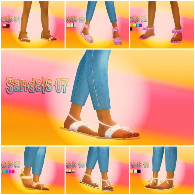 Sandals by B-L-S