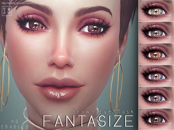 [ Fantasize ] - Brown Eye Mask by Screaming Mustard