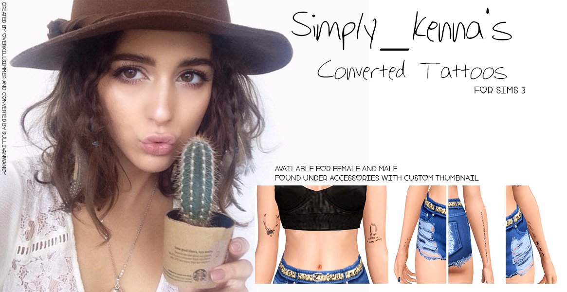 Simply Kennas Converted Tattoos от sullivanwandy