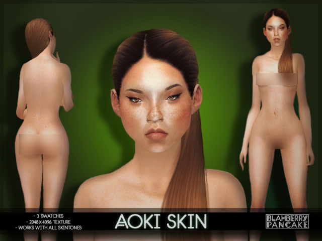 Aoki Skin by Blahberry Pancake