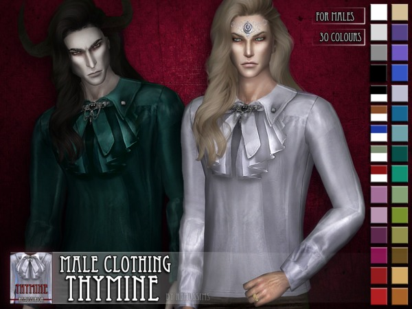 Thymine - male clothing - HQ and non-HQ by RemusSirion