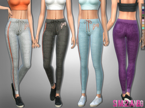 225 - Athletic pants by sims2fanbg