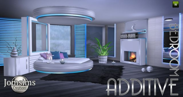 Additive Bedroom Set by JomSims