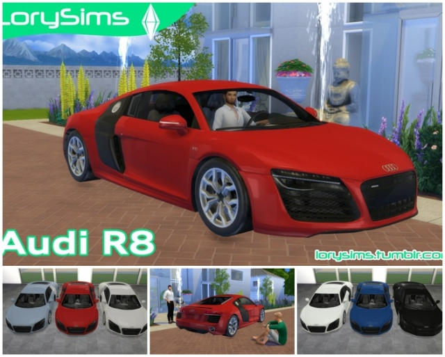 Audi R8 V10 by LorySims