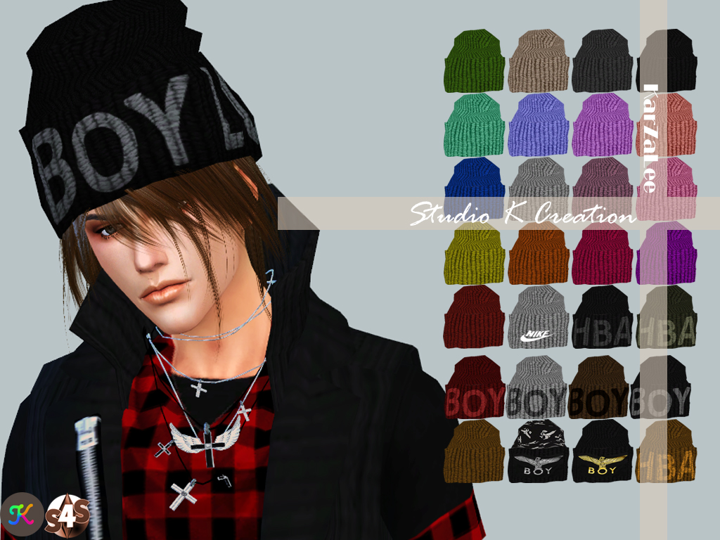 Boy London Knit Cap by Karzalee