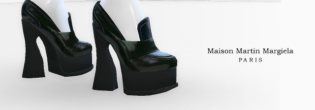 Maison Martin Margiela Heeled Loafers by MrAntonieddu