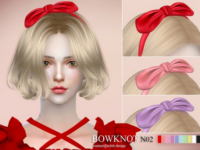 LL ts4 bowknot N02 by S-Club