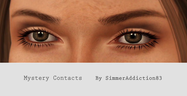 Mystery Contacts by SimmerAddiction83