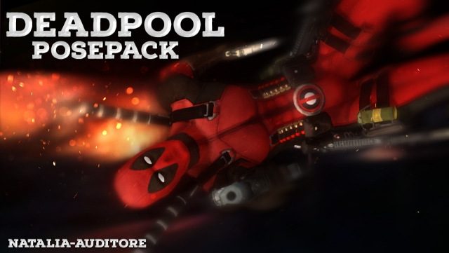 DEADPOOL POSES by natalia-auditore