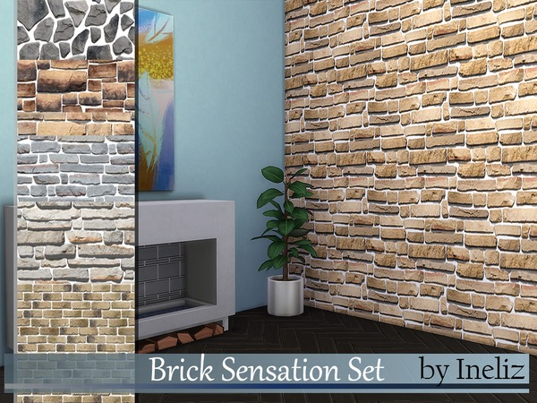 Brick Sensation Set by Ineliz