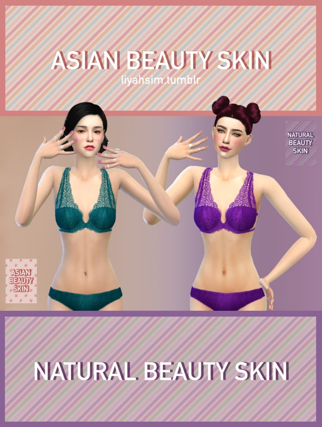 Asian & Natural beauty skin by LiyahSim