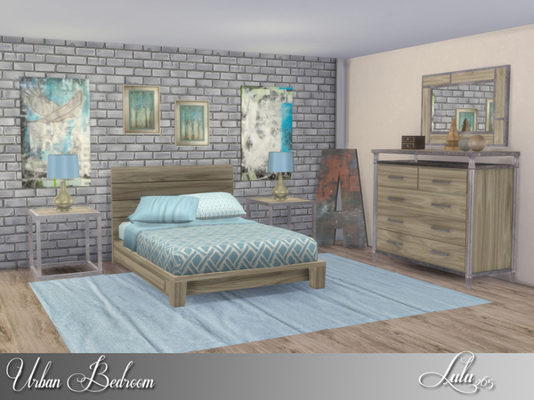 Urban Bedroom by Lulu265