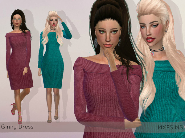Ginny Dress by mxfsims