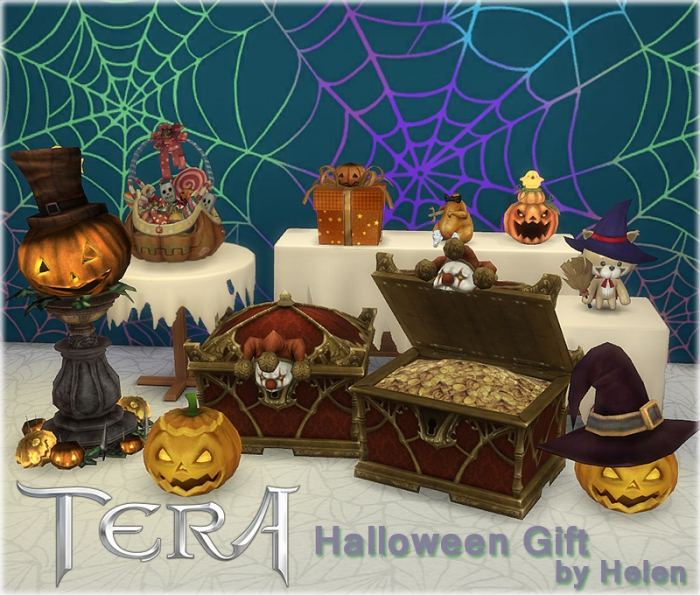 TERA Halloween Gift by Helen