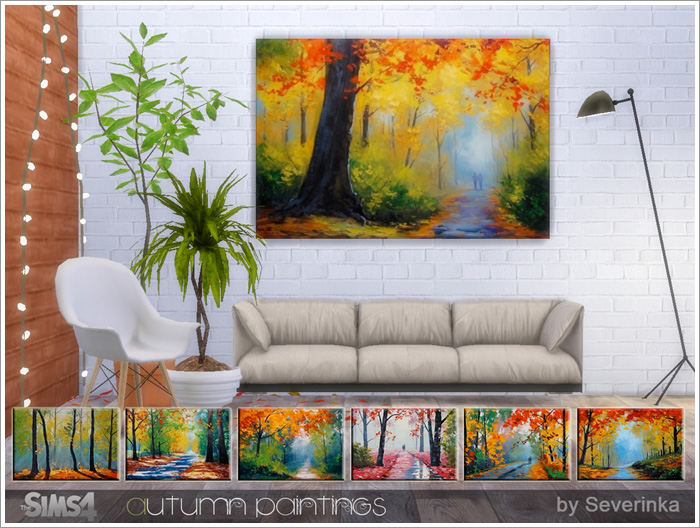 Autumn Paintings by Severinka