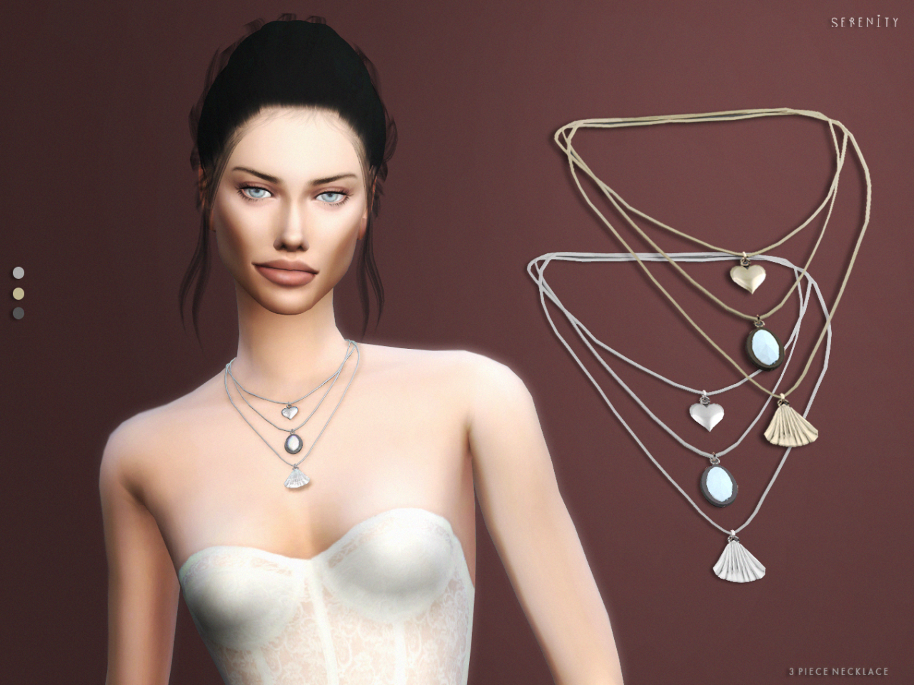3 Piece Necklace by SerenityCC