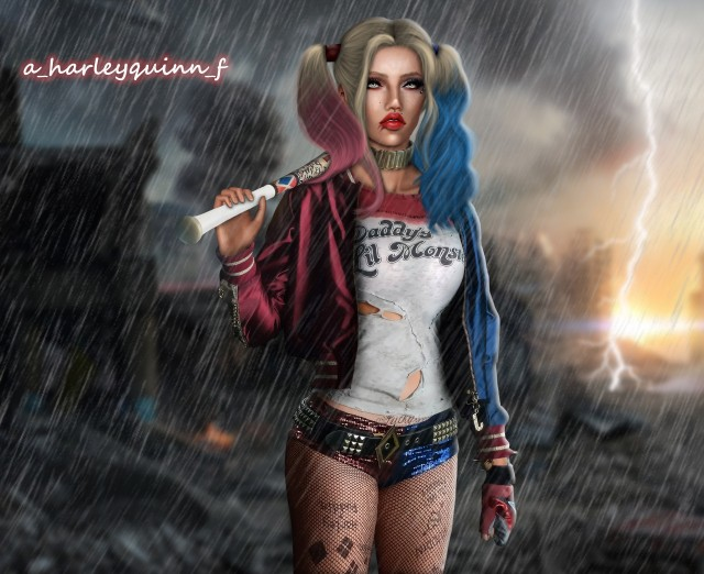 SUICIDE SQUAD POSE by alexahauser1996