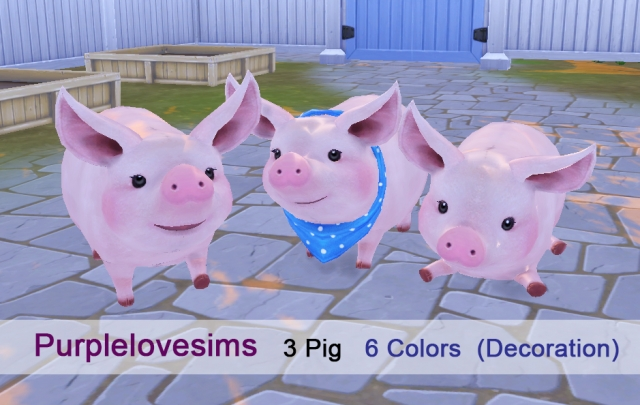 Tera pig by PurpleLoveSims