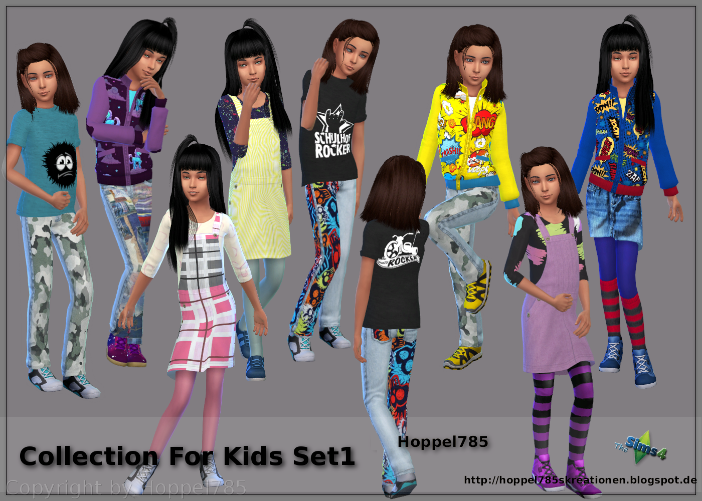 Kid's Clothing Collection by Hoppel785