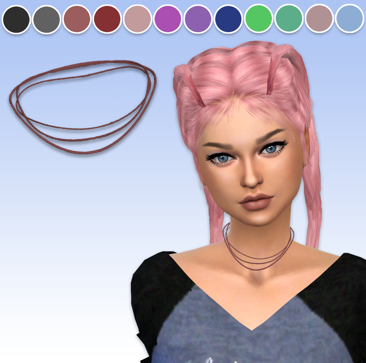 TS3 Simple Choker Conversion by ArthurLumiereCC