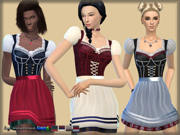 Dress Oktoberfest 2 by bukovka