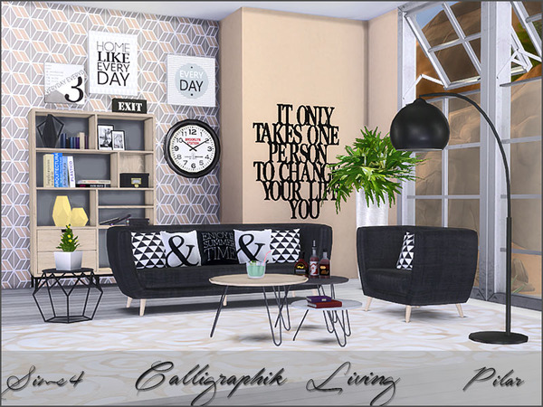 Calligraphik Living by Pilar