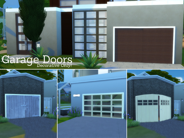 Garage Doors Set by Angela