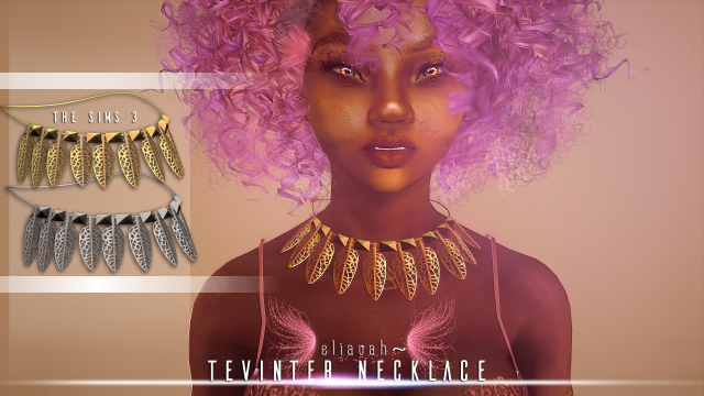 Tevinter Necklace by Eliavah