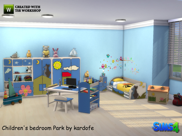 kardofe_Children's bedroom park
