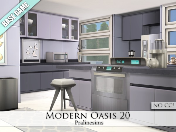 Modern Oasis 20 by Pralinesims