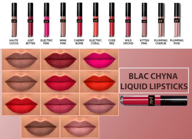 Blac Chyna Liquid Lipstick by Hallow Sims