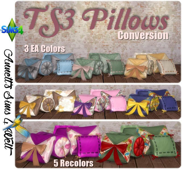 TS3 Pillows - Conversion by Annett85