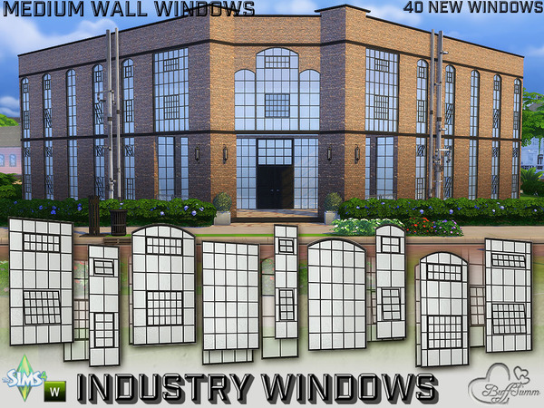 Industry Windows for Medium Wall Size by BuffSumm