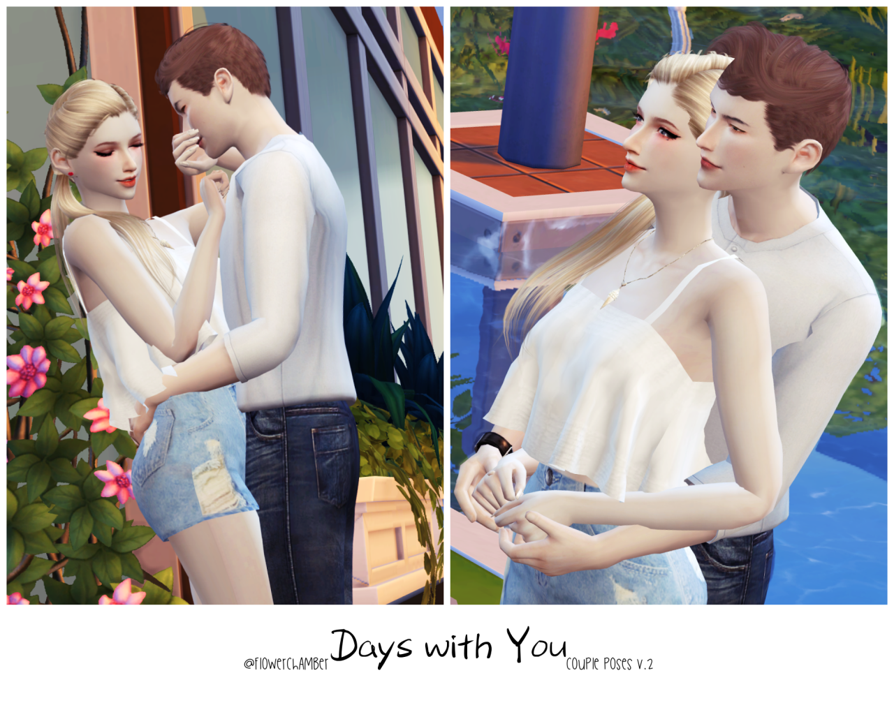 Days with You (Couple poses set v.2) by flowerchamber