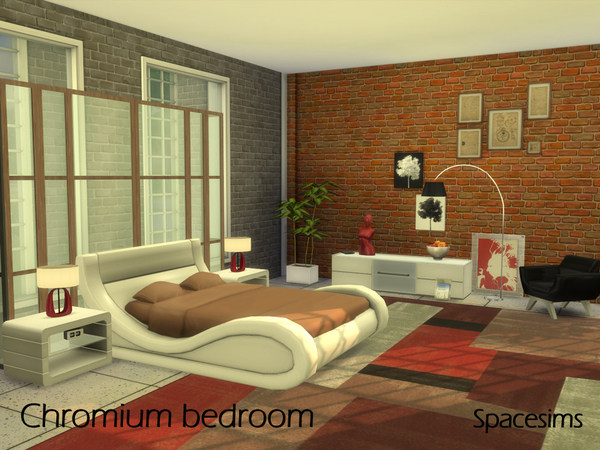 Chromium bedroom by spacesims