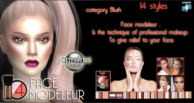 Face Modeleur 4 by JomSims
