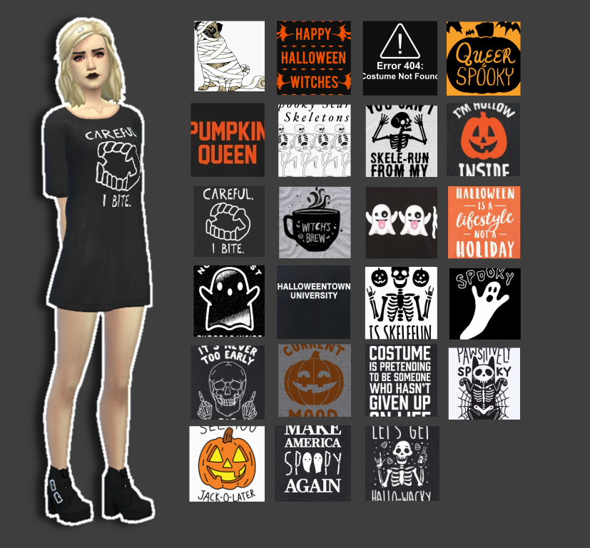 Halloween Dresses by Bummerdudez