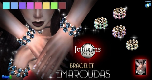 Emaroudas bracelet by JomSims