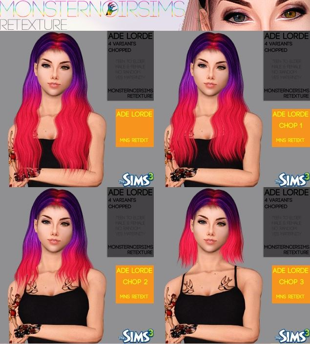 ADE LORDE by monsternoirsims